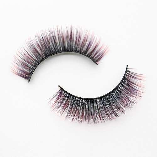 colorful eyelash