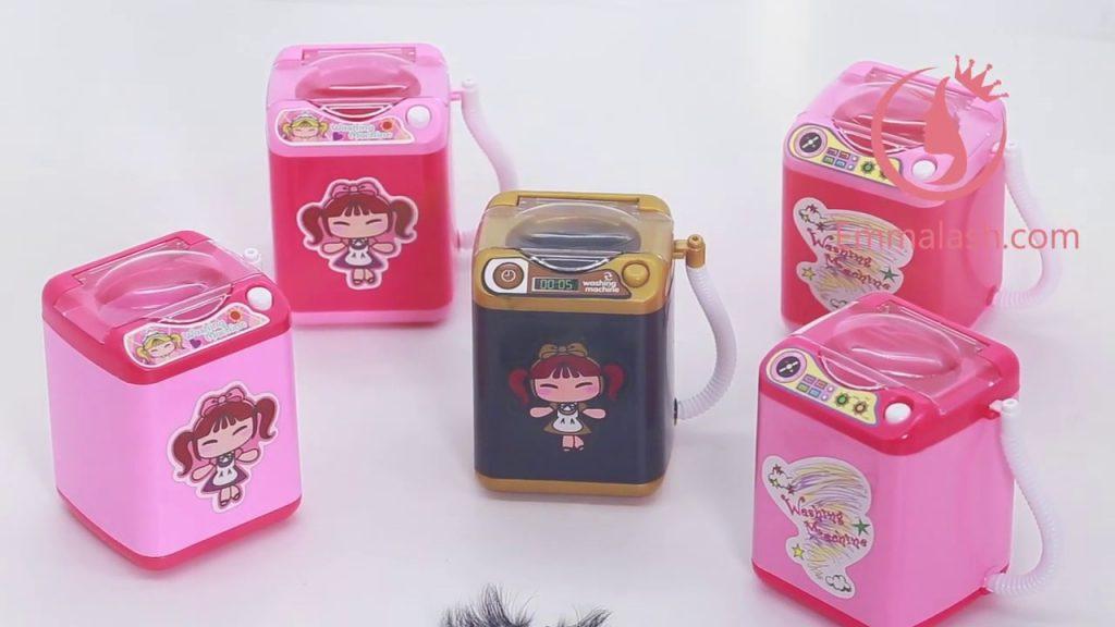 eyelash washing machine