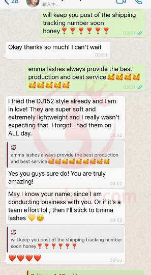 Emma Lashes customer review and feedback(16)