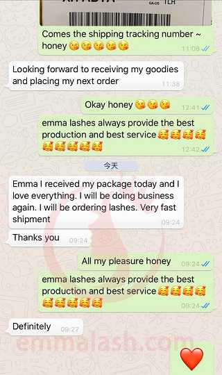 Emma Lashes customer review and feedback(27)