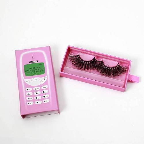 telephone eyelash drawer packaging