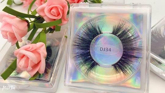 Wholesale free eyelash packaging box