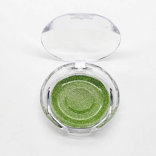 clear eyelash circle cases