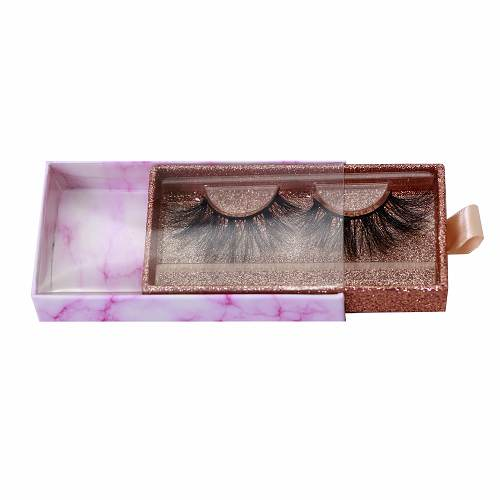 drawwer eyelash packaging box from Emma Lashes