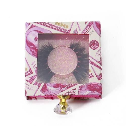 square drawer us dollar eyelash packaging